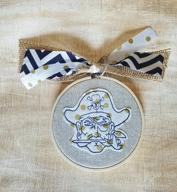 Pirate Farmhouse Christmas Ornament (F-TS-122)