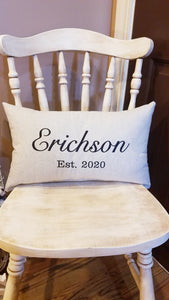 Established Pillow (P-LC-121)