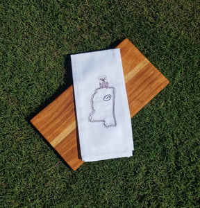 Mississippi State Bulldog Football Towel (T-SP-125)