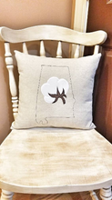 Load image into Gallery viewer, Alabama Cotton Boll Pillow (P-SC-147)