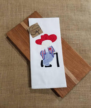 Load image into Gallery viewer, Vintage Rebel Applique Towel (T-SP-113)