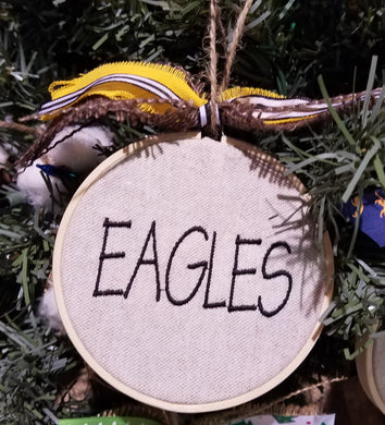 Eagles Farmhouse Christmas Ornament (F-SP-131)