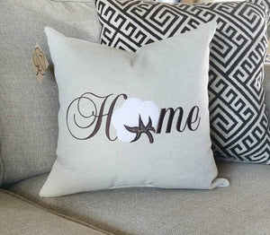 Home Cotton Boll Pillow