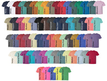 Load image into Gallery viewer, Monogrammed Fishtail Comfort Colors Tshirt