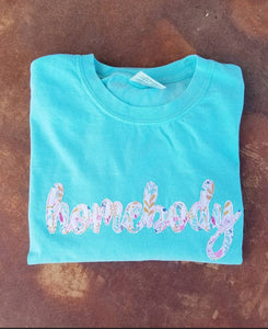 Homebody Comfort Colors Tshirt