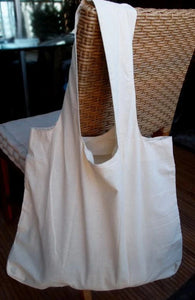 Fishtail Monogrammed Cotton Tote (C-MG-113)