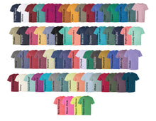 Load image into Gallery viewer, Fishtail Monogrammed Comfort Colors Pocket Tshirt