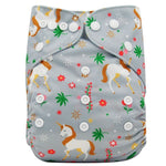 Reusable Diaper - The Unicorns & Rainbows Collection - Onedegreeworld
