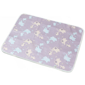 ** Portable Baby Diaper Changing Mat - Elephants - Onedegreeworld