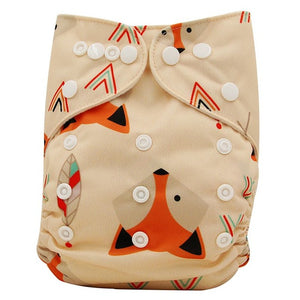 Reusable Diaper - The Fox Collection - Onedegreeworld