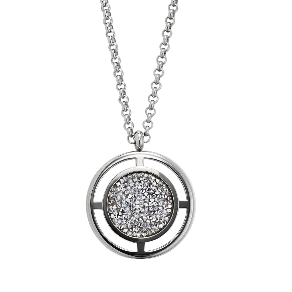 Dyrberg/Kern Charida Silver Necklace - Brownie Sparkles