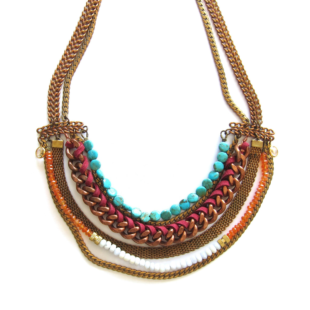 Hailey Gerrits Statement Necklace - Brownie Sparkles