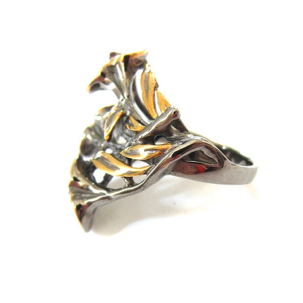Passion Tulip Garnet Ring - Brownie Sparkles - 3