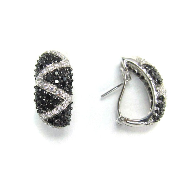 Juju ZigZag Earrings - Brownie Sparkles