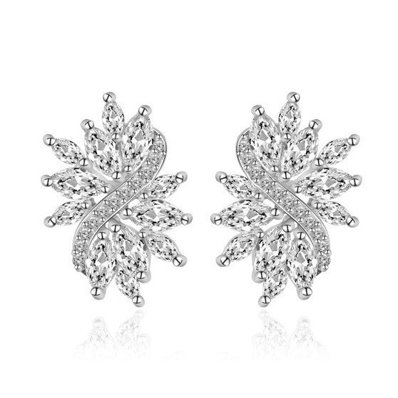Flora Marquise Studs