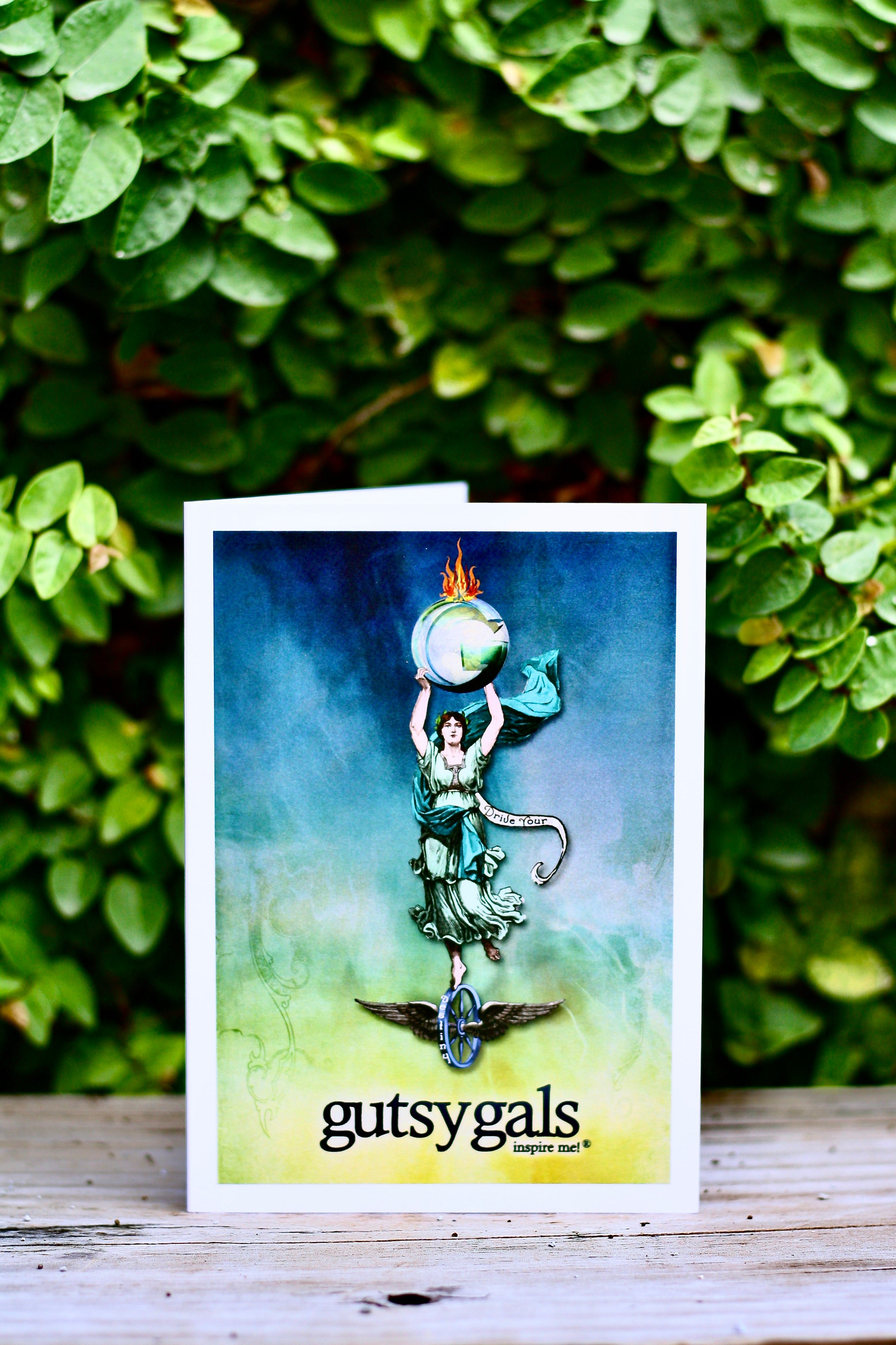 Girl On Fire Cards Pack