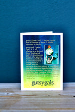 Gutsy Gals Definition Cards Pack