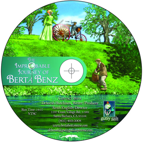 Improbable Journey of Berta Benz DVD Blu-Ray