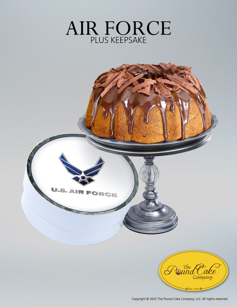 Air Force Thank You - The Pound Cake Company