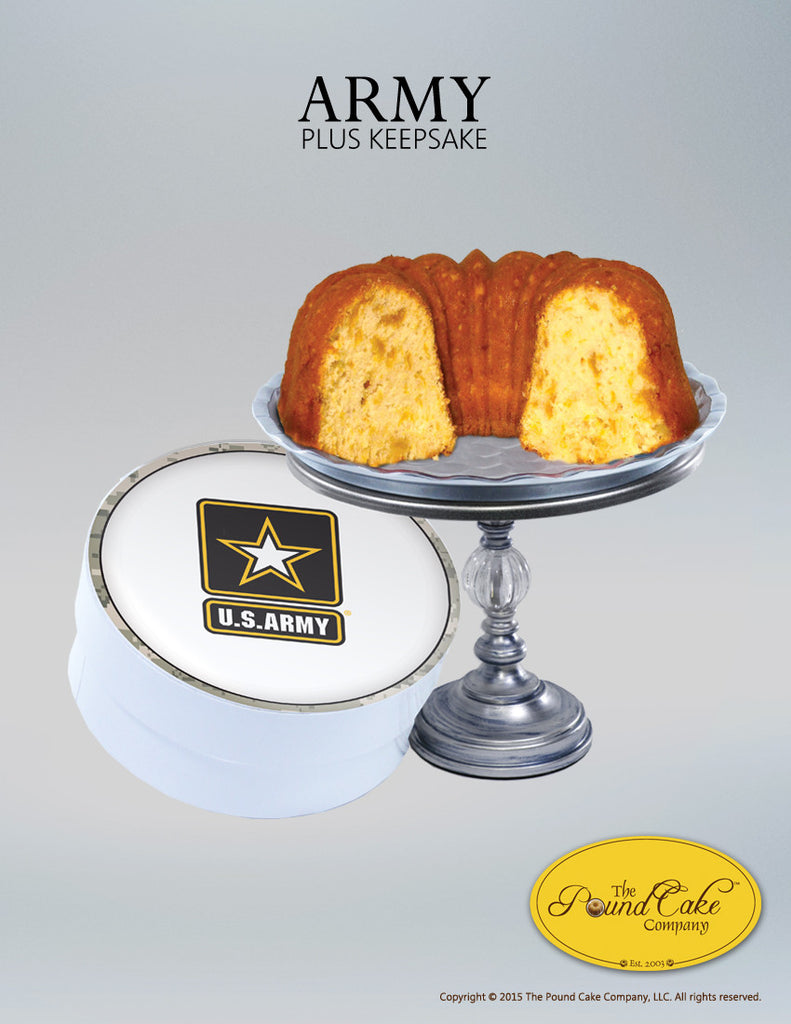 Army Thank You - The Pound Cake Company