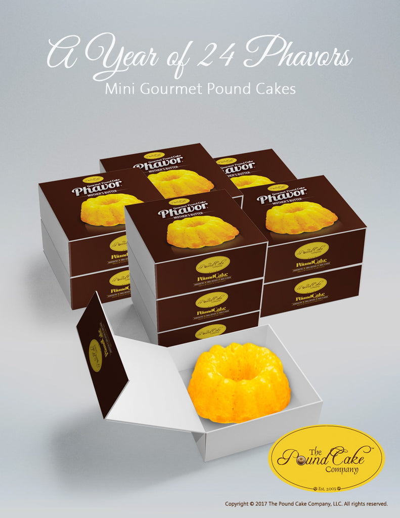 Year of 24 Phavors - The Pound Cake Company