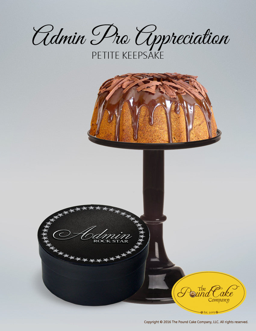 Admin Appreciation Petite - The Pound Cake Company