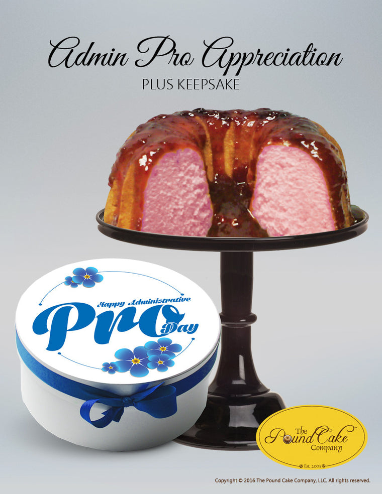 Admin Appreciation Plus - The Pound Cake Company