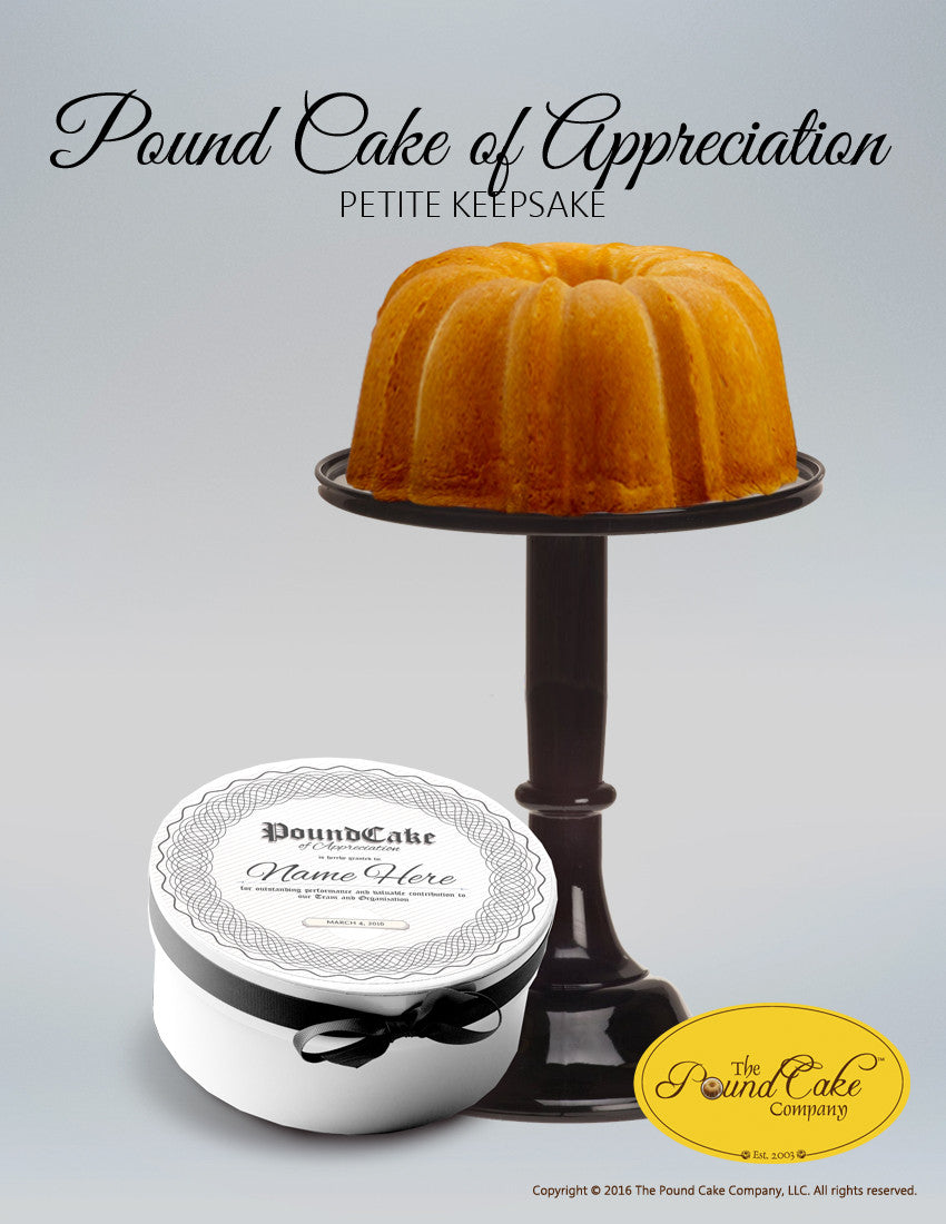 Appreciation Petite - The Pound Cake Company