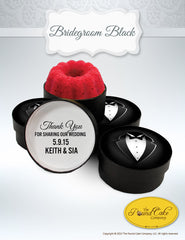 *Bridegroom Black - The Pound Cake Company
