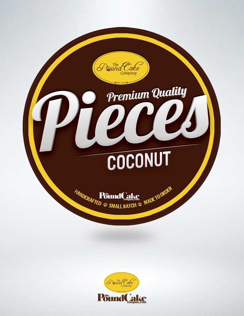 Pieces - Coconut