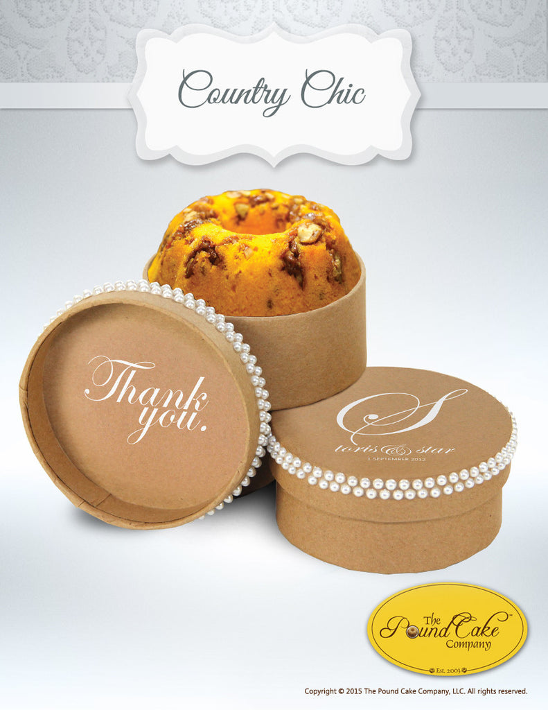 Country Chic - The Pound Cake Company