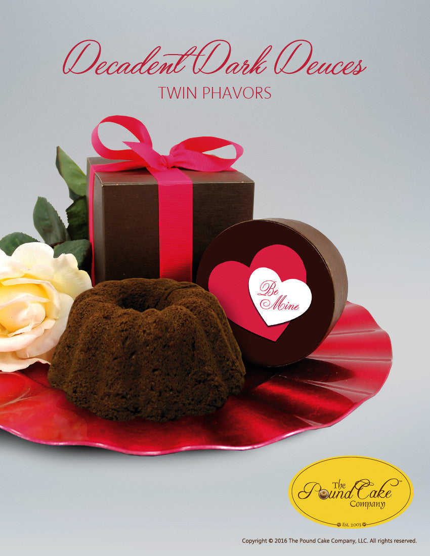 *Decadent Dark Deuces - The Pound Cake Company