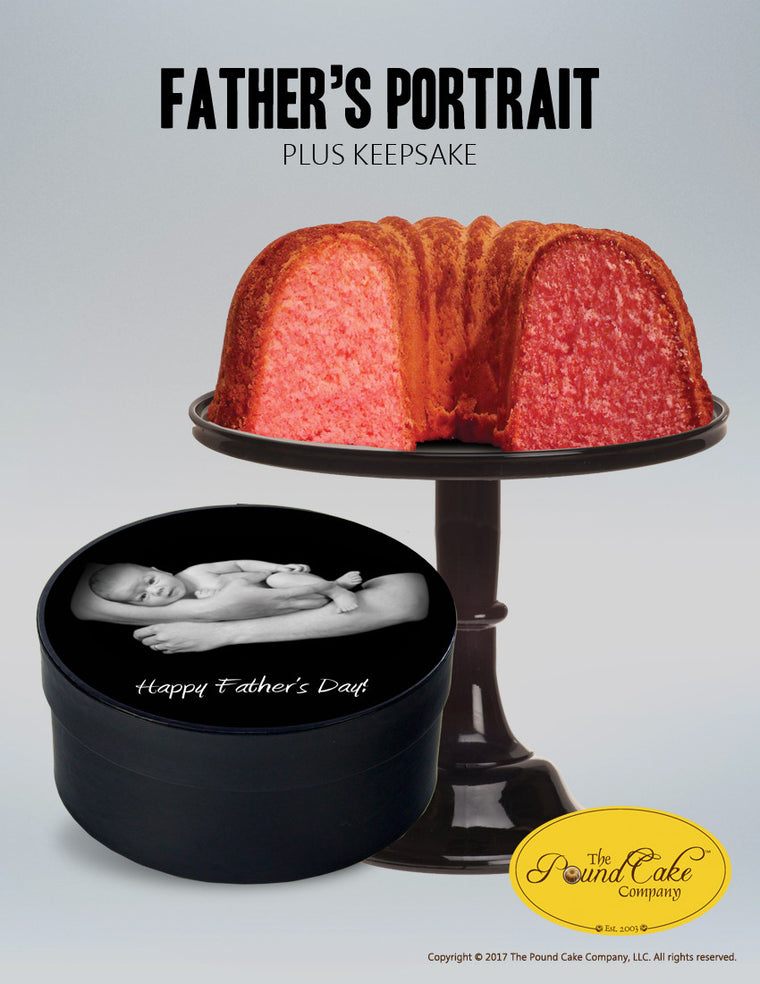 Father's Portrait Petite - The Pound Cake Company