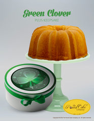 Green Clover Keepsake - The Pound Cake Company