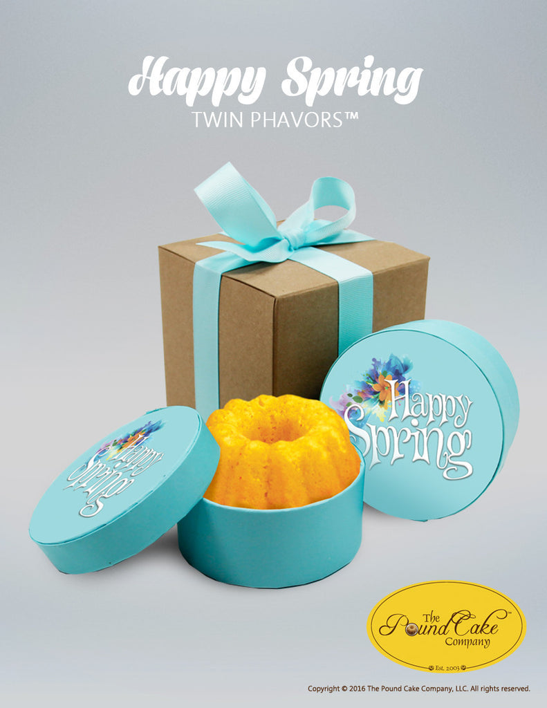 **Happy Spring Phavors - The Pound Cake Company