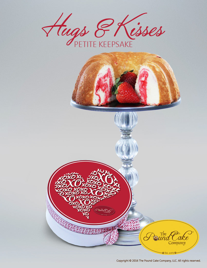*Hugs & Kisses Petite - The Pound Cake Company
