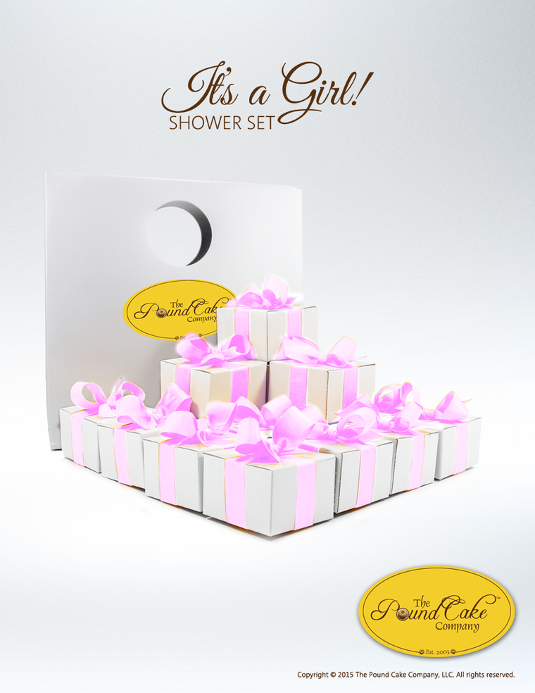 It's a Girl - The Pound Cake Company