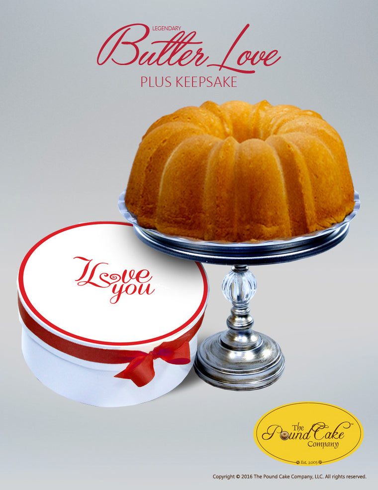 **Legendary Butter Love - The Pound Cake Company