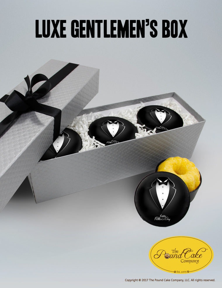 Luxe Gentlemen's Gift Box - The Pound Cake Company