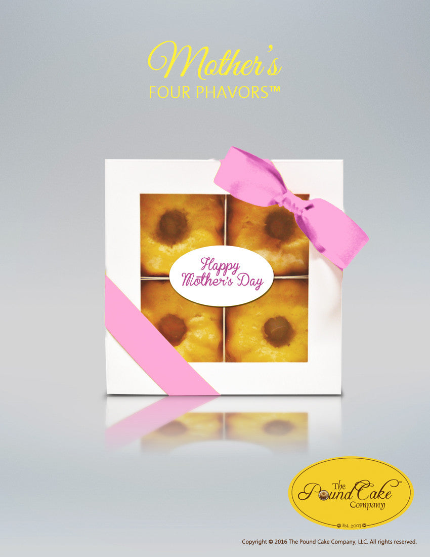 Mother's Four - Pink - The Pound Cake Company
