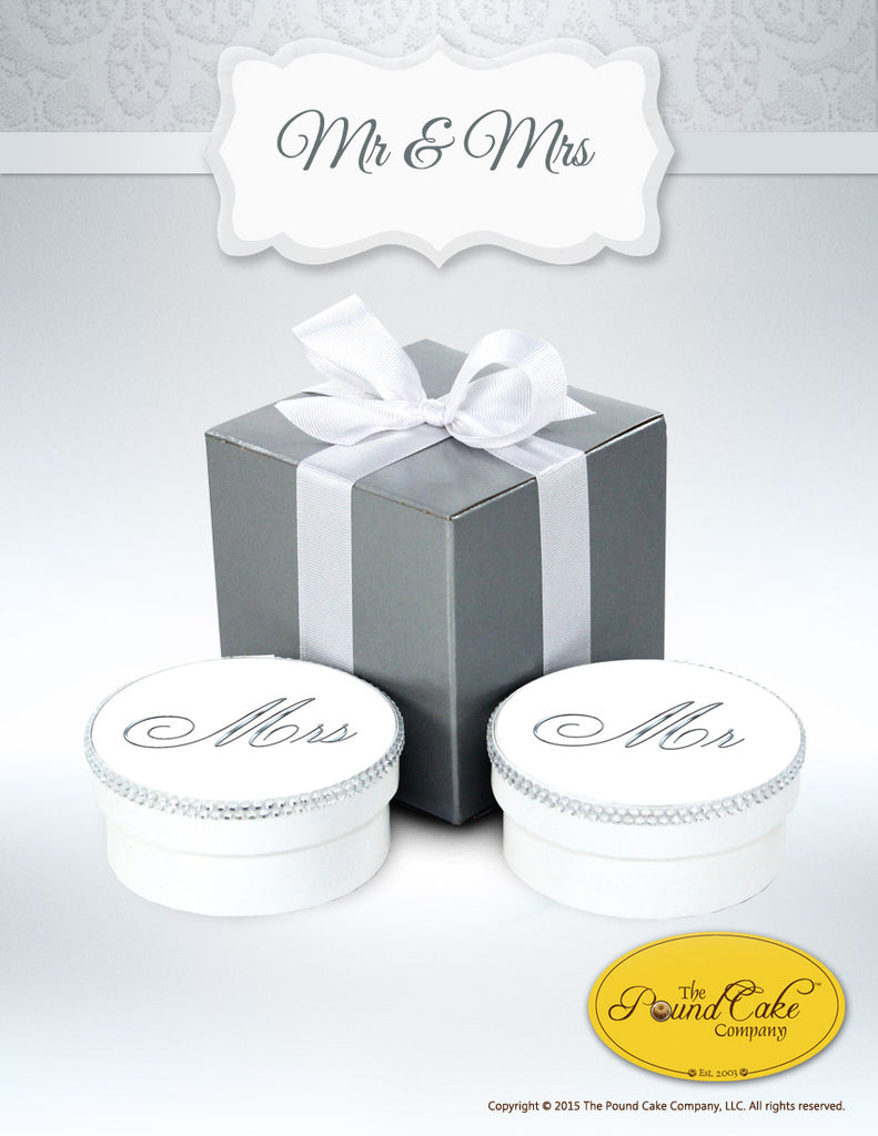 Mr & Mrs - The Pound Cake Company