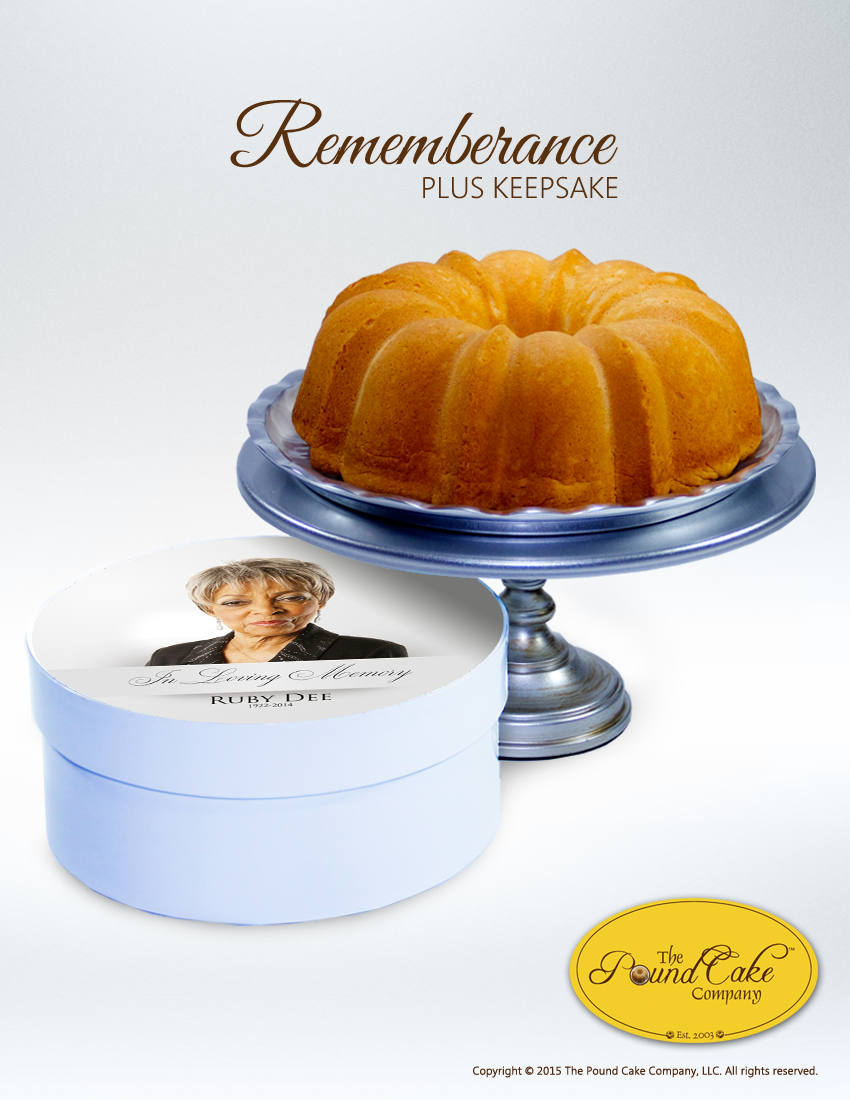 Remembrance Keepsake - The Pound Cake Company
