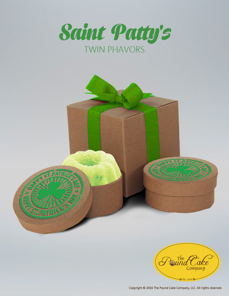 St. Patty's Twin - The Pound Cake Company