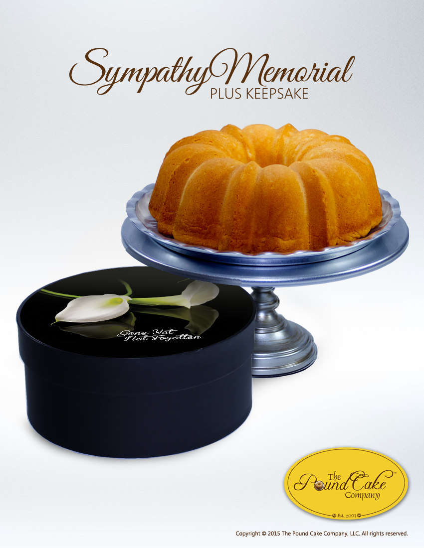 Sympathy Keepsake - The Pound Cake Company