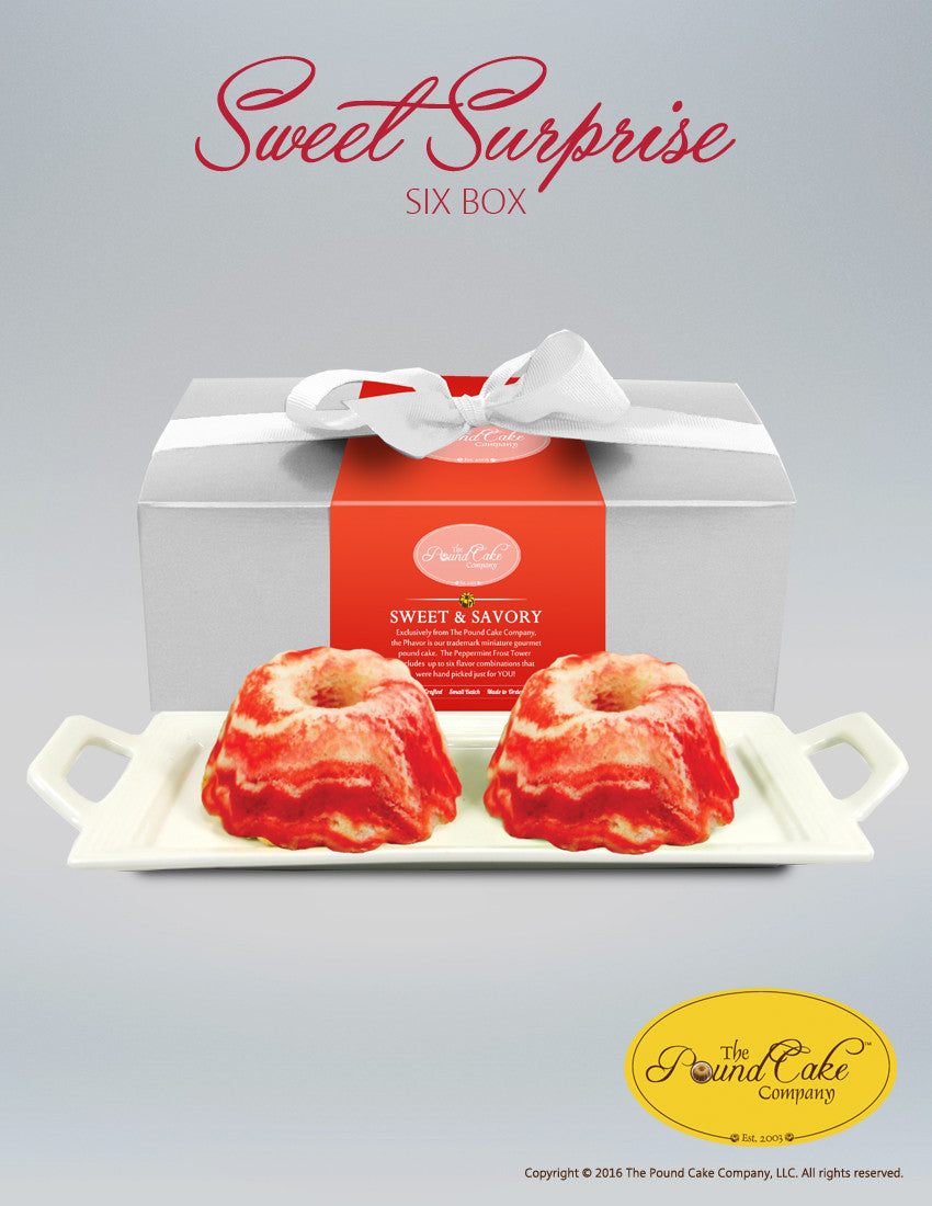 *Sweet Surprise Six - The Pound Cake Company