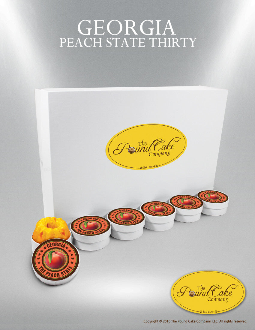 Peach State Thirty - The Pound Cake Company