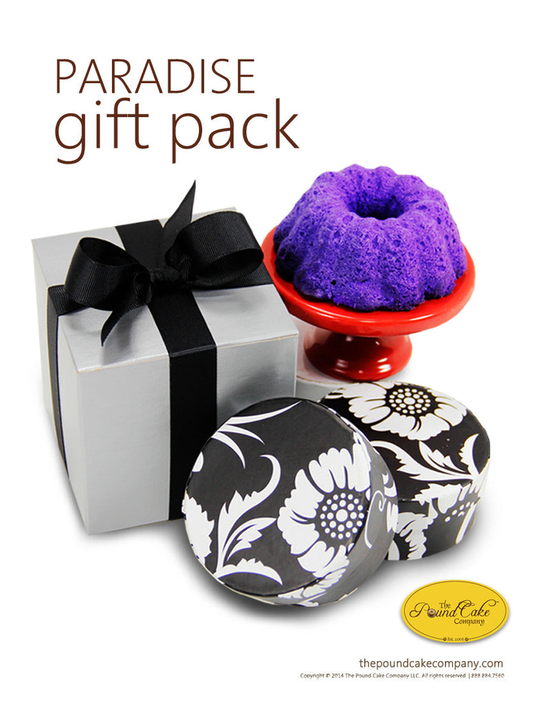 Paradise Gift Pack - The Pound Cake Company
