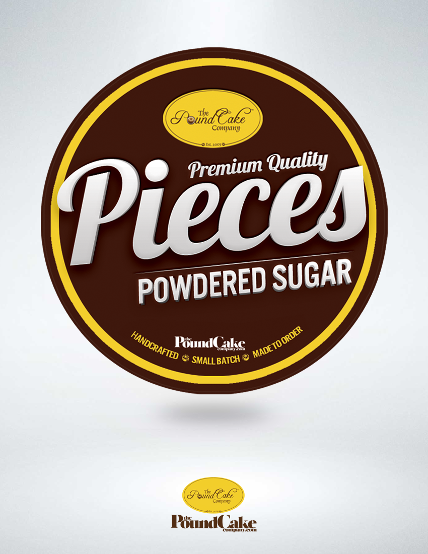 Pieces - Powdered Sugar
