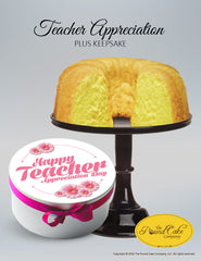 Teacher Appreciation Plus - The Pound Cake Company