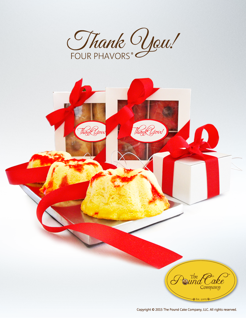 *Thank You Four - The Pound Cake Company